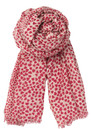 Becksondergaard B Heartstopper Silk & Wool Mix Scarf - Blushy Pink