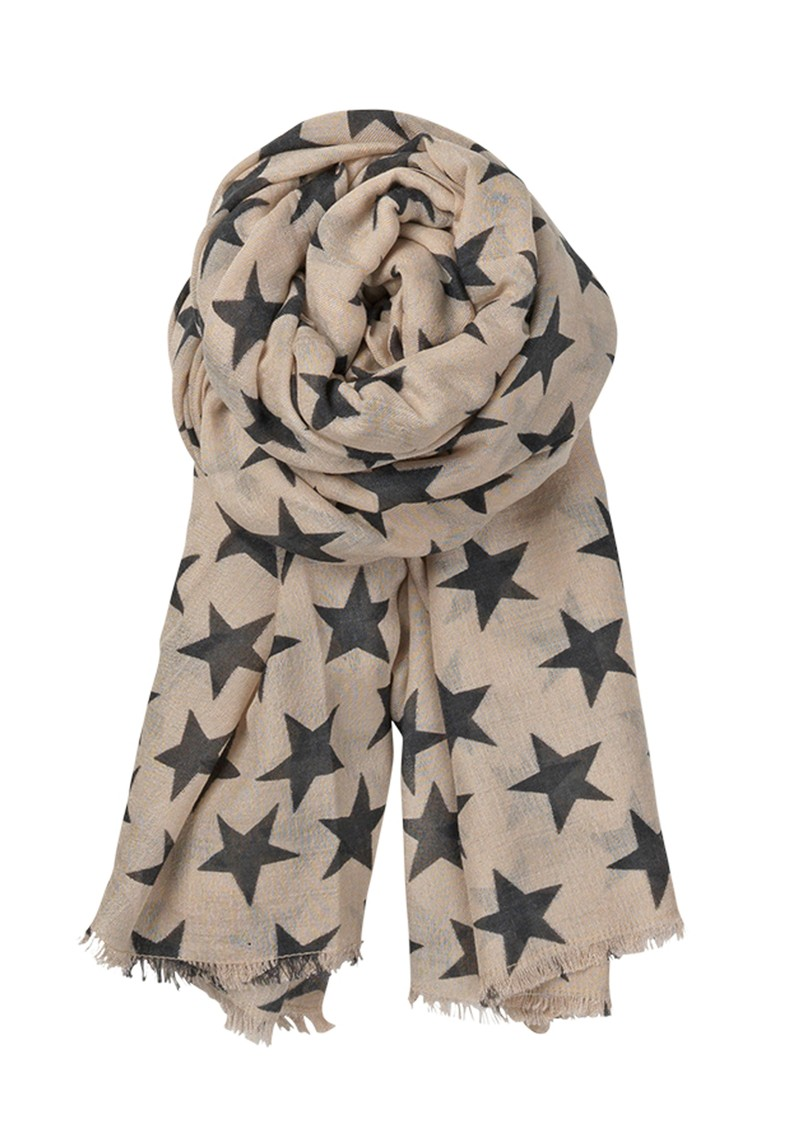 Becksondergaard B Summer Night Star Scarf - Cat Grey main image