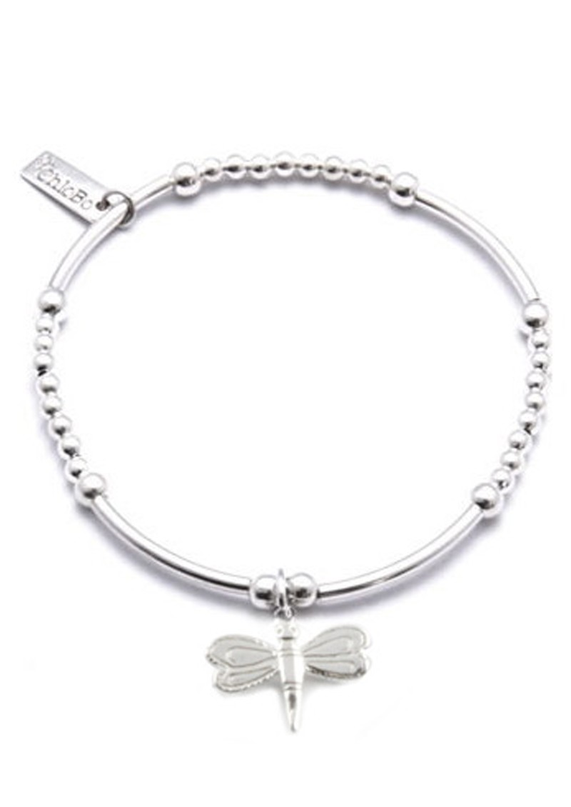 ChloBo Cute Mini Bracelet With Dragonfly Charm - Silver main image