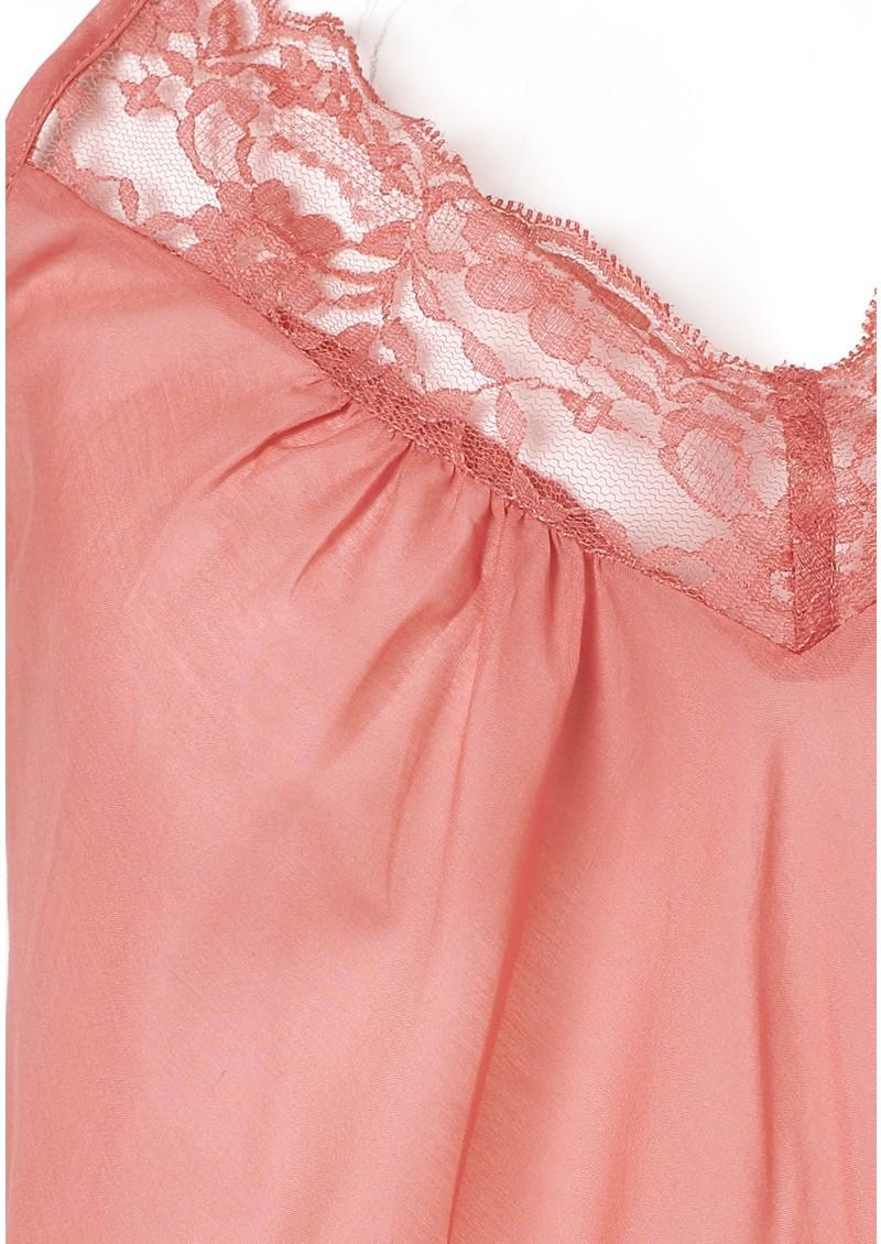 Day Birger et Mikkelsen  Vidar Silk Blend Lace Top - Ruby main image