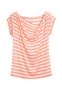 Farhi Regatta Stripe Cotton Tee - Blush & Almond
