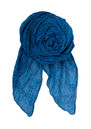 F Reflected Leo Print Scarf  - Spring Blue additional image
