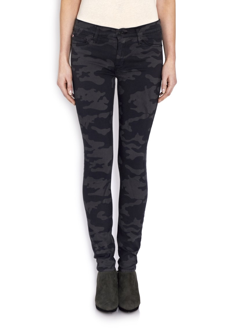 Hudson Jeans Nico Mid Rise Skinny Jean - Camo main image