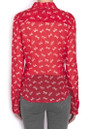 Paul & Joe Sister Cavalera Blouse - Rouge