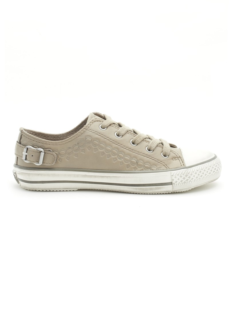 Ash Virgo Nappa Wax Trainer - Taupe main image