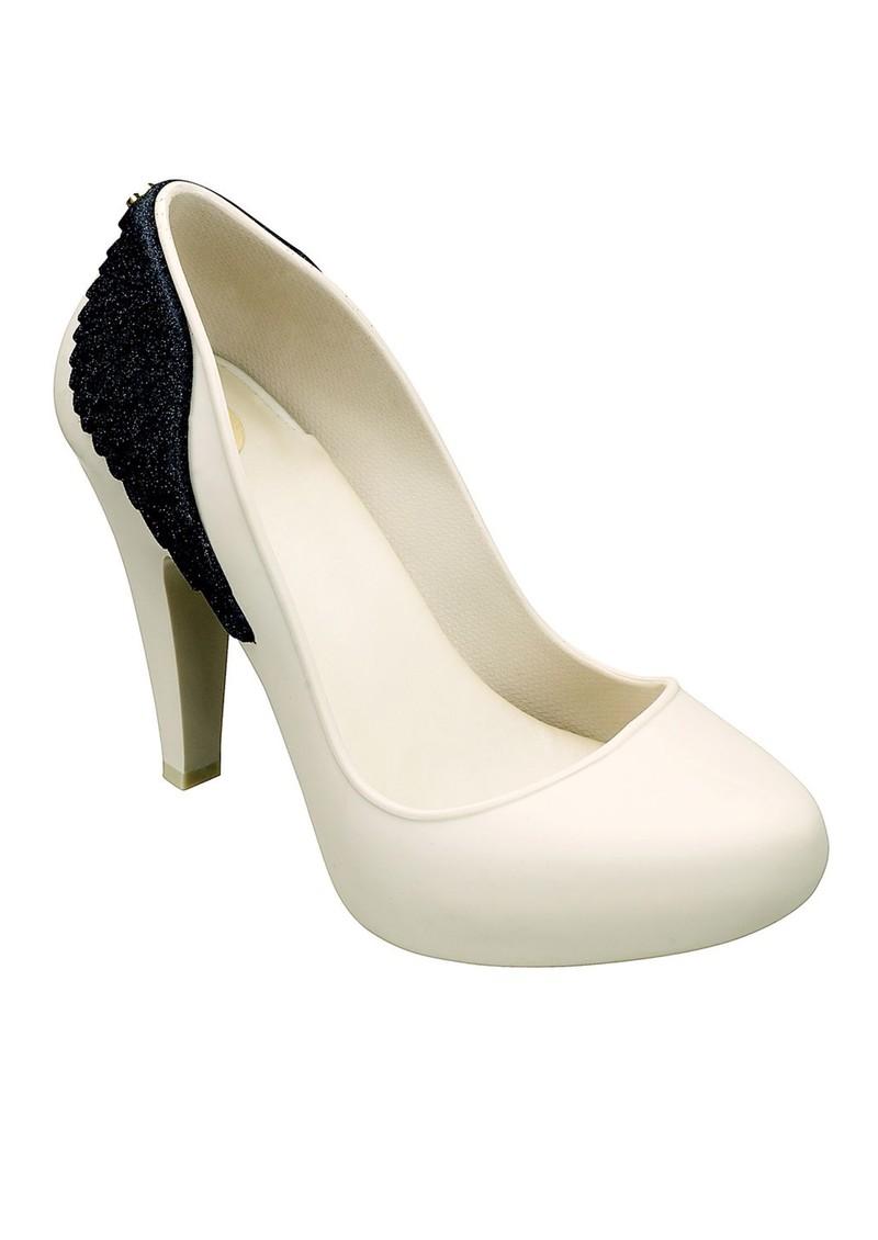 Melissa Incense Wing Heels - Ivory Glitter main image