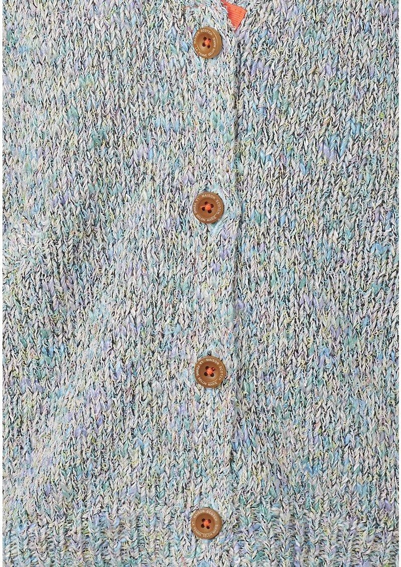 Maison Scotch Surf Inspired Knit Cardigan - Combo A main image
