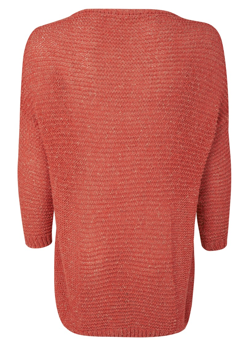 American Vintage Uma Pull Over Knit - Tomato Melange main image