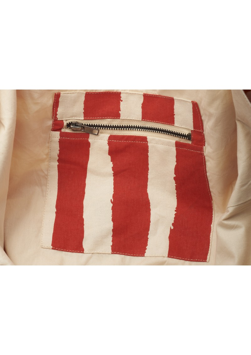 Becksondergaard Sailor Canvas Bag - Kiss Stripes main image