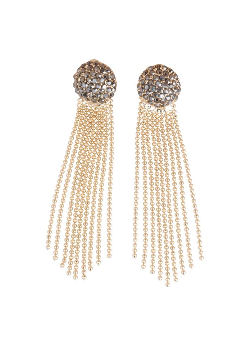Tokyo Jane Hanna Chain Earrings - Gold main image