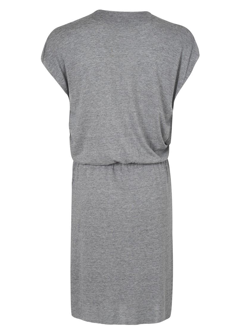 American Vintage Rialto Jersey Dress - Heather Grey main image