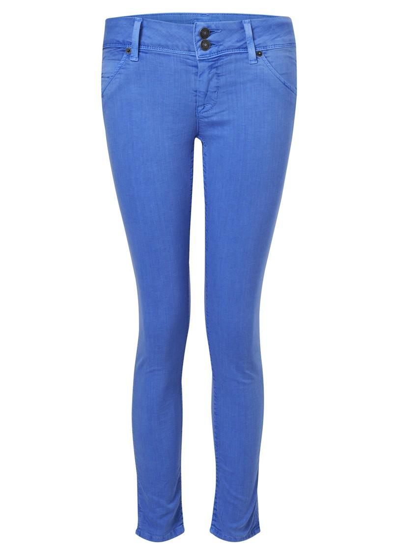 Hudson Jeans Crop Collin Skinny Jean - Marine Blue main image