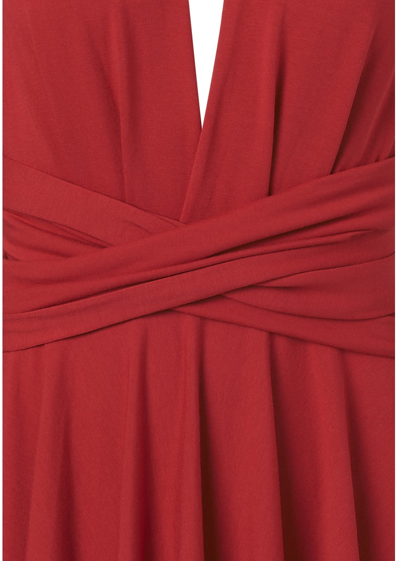 Butter By Nadia Signature Jersey Wrap Dress - Vixen main image