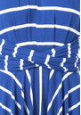 Butter By Nadia Signature Jersey Wrap Dress - Blue Stripe