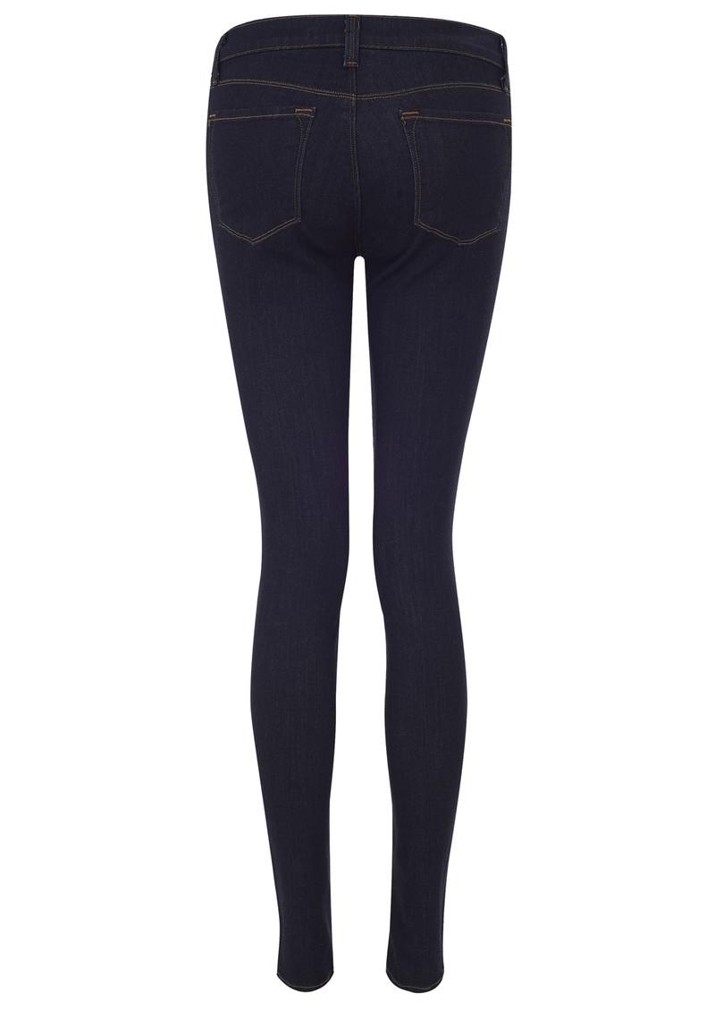 J Brand 620 Mid Rise Skinny Leg Jeans - Starless main image