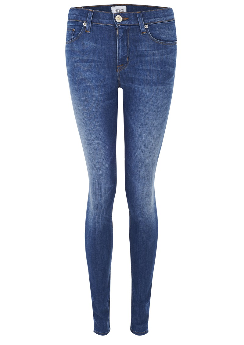 Hudson Jeans Nico Mid Rise Skinny Jean - Morrissey main image