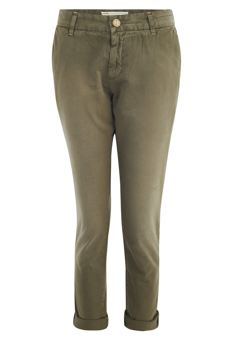 Current/Elliott Buddy Trousers - Green main image