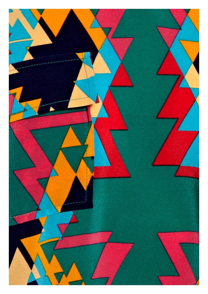 American Retro Claudia Top - Print main image