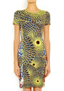 Antik Batik Arly Pencil Dress - Yellow