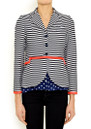 Vilagallo Forest Stripe Blazer - Stripes