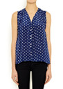 Miki Polka Dot Shirt - Navy additional image