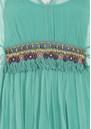 Blank Loriz Kaftan - Turquoise