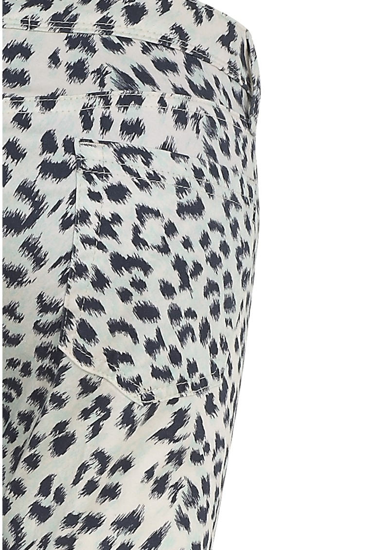 Virginie Castaway Tamy Slim Leopard Print Trousers - Leopard main image