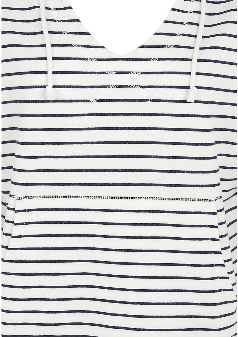 Striped Hoodie - Light Yacht main image