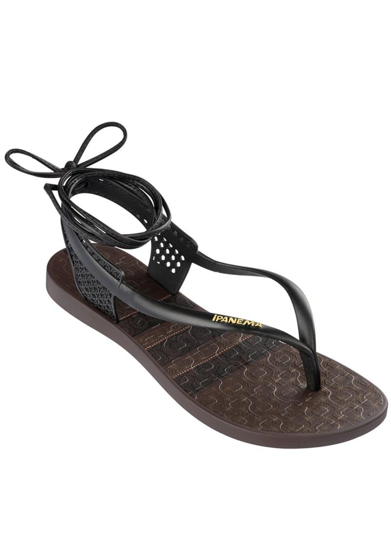 Ipanema Pharoah Wrap Sandal - Black main image