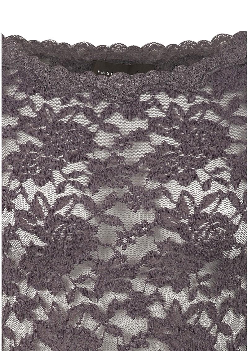 Rosemunde Lace 3/4 Sleeve Top - Rabbit main image