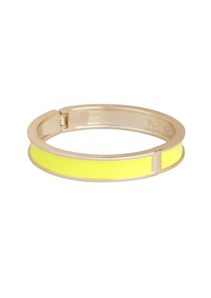 Tokyo Jane Gisa Enamel Bangle - Yellow & Gold main image