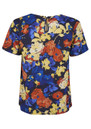 Great Plains Artists Roses Floral Top - Damsel