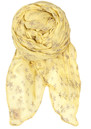 D-Faded Star Scarf - Lemonade additional image