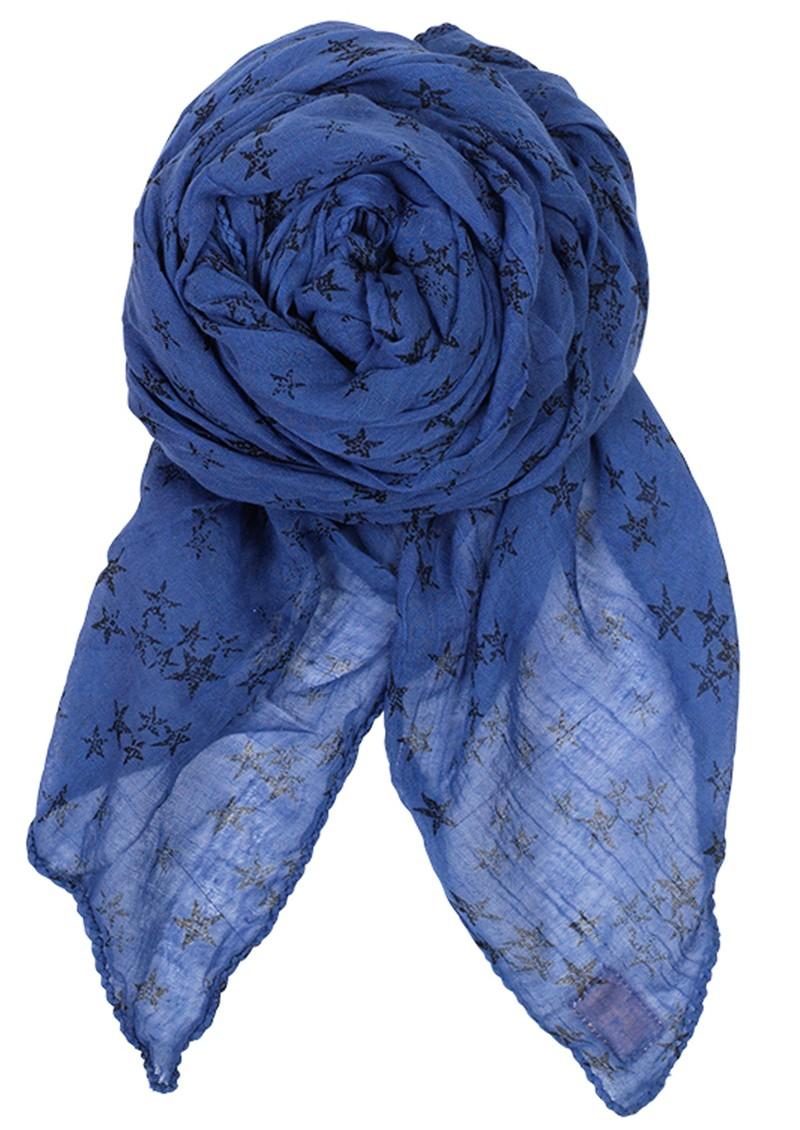 Becksondergaard D-Faded Star Scarf - Highlight Blue main image