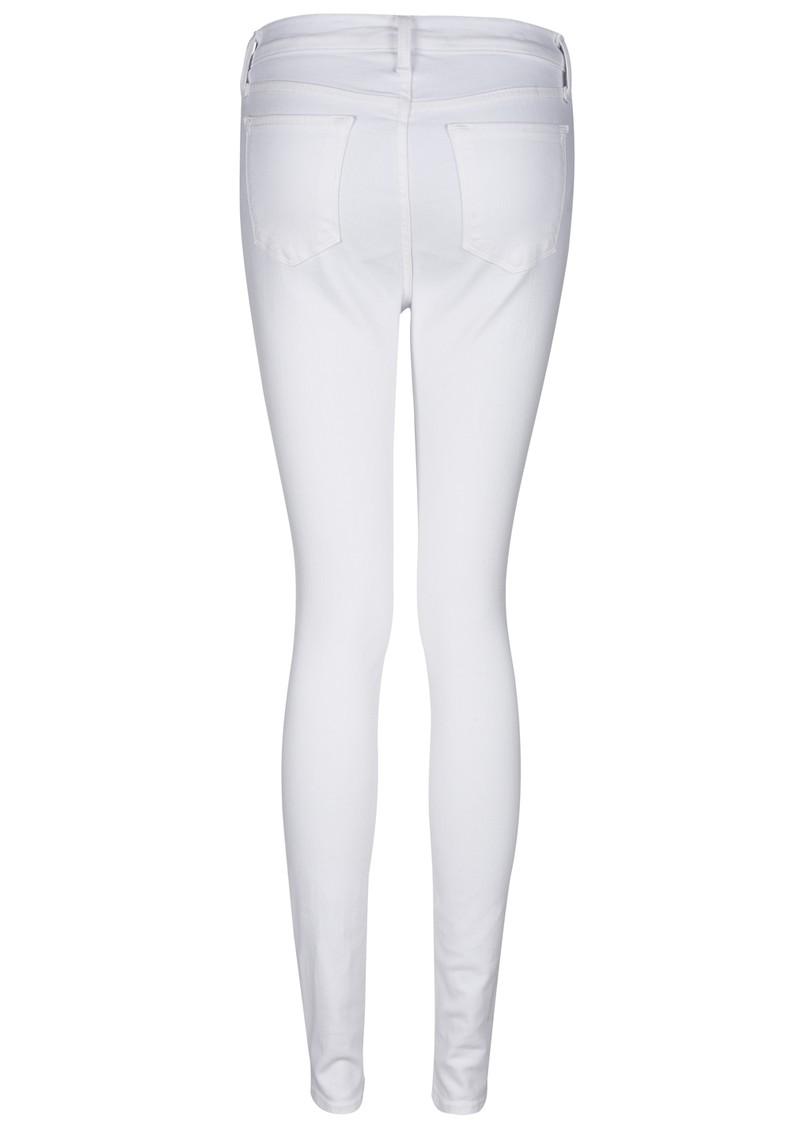 J Brand Maria High Rise Skinny Jeans - White main image