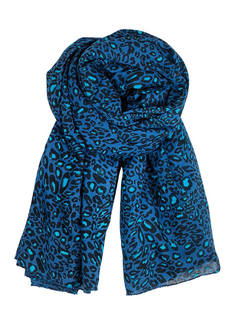 Becksondergaard E Little Leo Scarf - Rich Blue main image