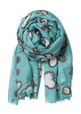 Becksondergaard E Winter Light Wool & Silk Blend Scarf - Mineral Green