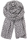E-Summer Stars Scarf - Slate Grey additional image