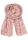 Becksondergaard E-Hearts On A Wire Scarf - Fuzzy Peach