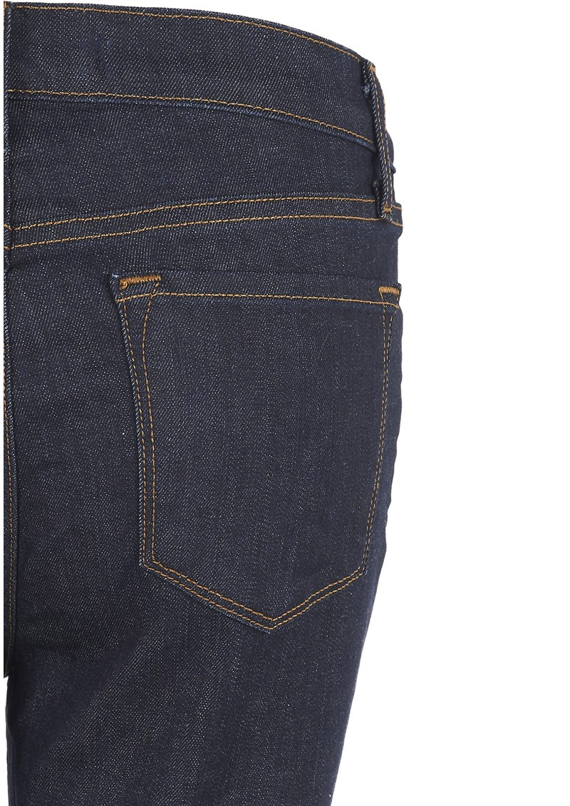 J Brand 2028 Alessandra High Rise Crop Jeans - Clean Rinse main image