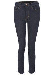 J Brand 2028 Alessandra High Rise Crop Jeans - Clean Rinse