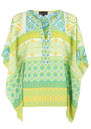 Hale Bob Retro Blouse - Lime