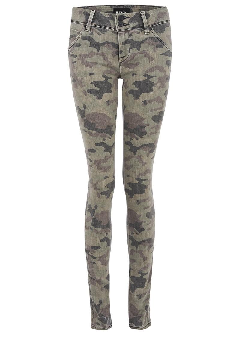 Hudson Jeans Collin Skinny Jeans - Camo main image