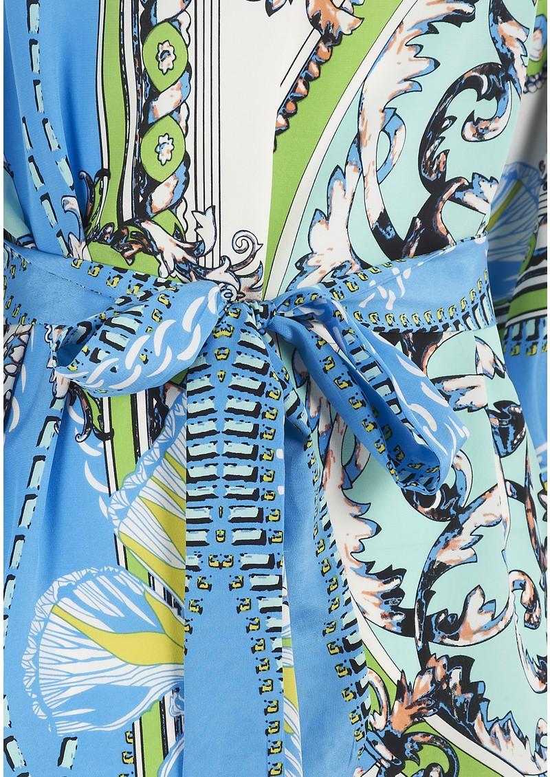 Hale Bob Blue Print Dress - Blue main image