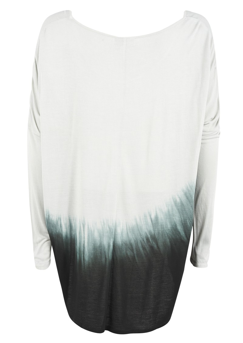 Pyrus Paddy Tie Dye Long Sleeved Tee - Slate main image
