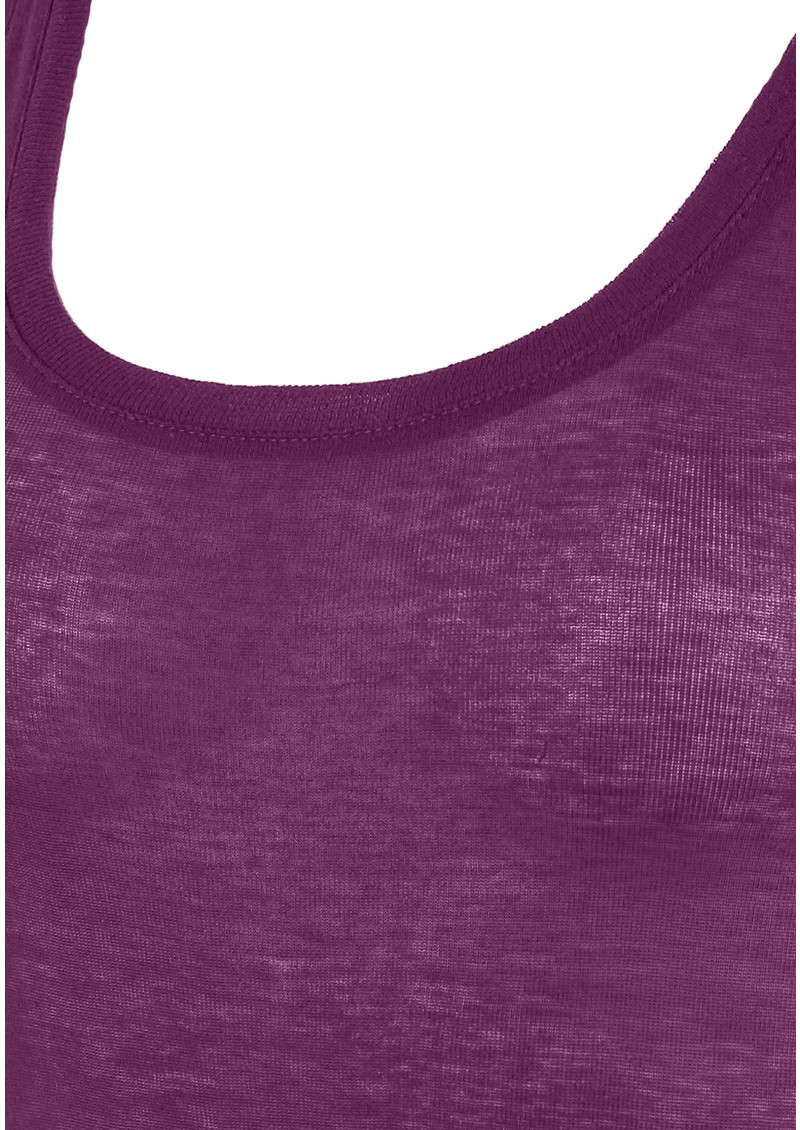 American Vintage Massachusetts Tank - Deep Purple  main image