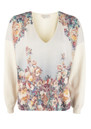 Paul and Joe Sister Panache Floral Jumper - Ecru