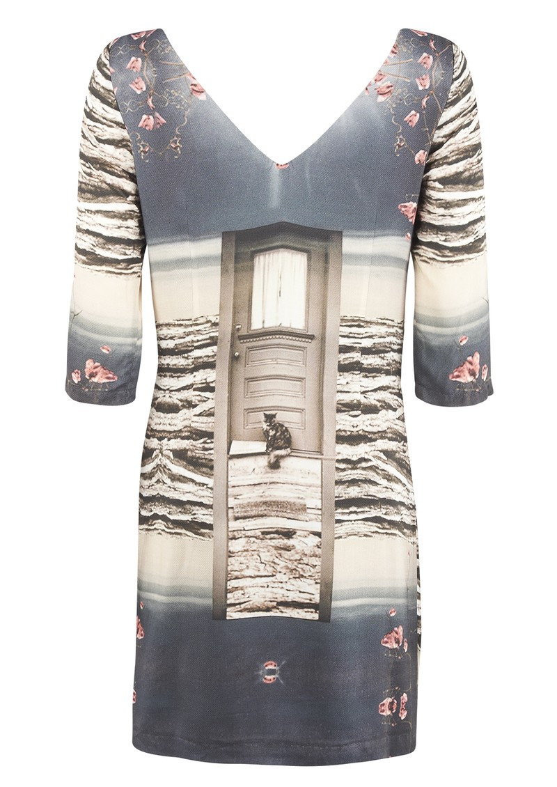 Paul and Joe Sister Siamoise Dress - Anthracite  main image