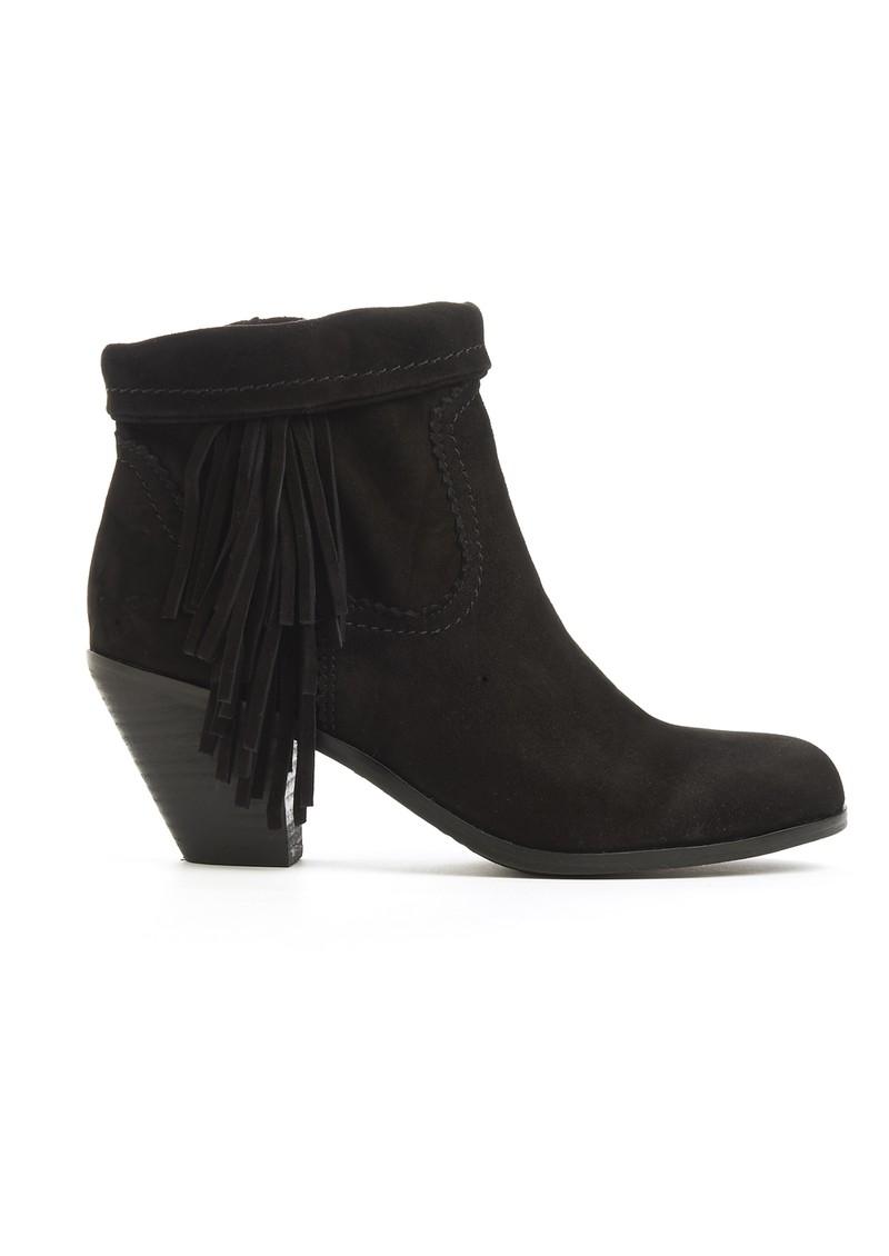 39b7e6c99 Sam Edelman Louie Fringe Detail Boots in Black