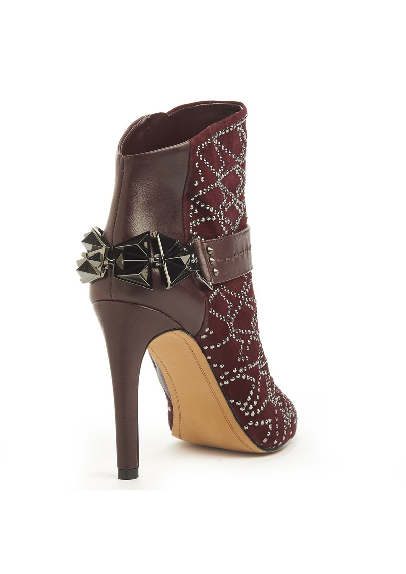 Sam Edelman Mila Embellished Boot - Burgundy  main image